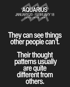 Zodiac Mind - Your source for Zodiac Facts: Photo Aquarius Traits, Aquarius Love, Aquarius Quotes, Aquarius Woman, Capricorn And Aquarius, Zodiac Signs Aquarius, Zodiac Mind, Zodiac Quotes, Zodiac Facts