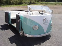 How cute is this? VWCamper #Volkswagen  #VWConvertible