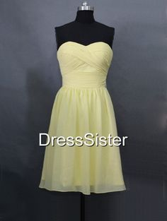 Hey, I found this really awesome Etsy listing at https://www.etsy.com/listing/166697422/bridesmaid-dress-yellow-bridesmaid-dress
