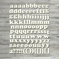 Alfabet - małe literki