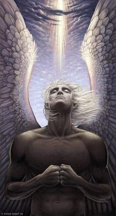 """Archangel Sandalphon... is the twin or """"co-brother""""  of Archangel Metatron. He had an Earth incarnation as Elijah and is the the Guardian of the Earth Kingdom."""