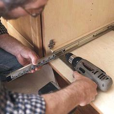 Photo: Keller & Keller Photography | thisoldhouse.com | from How to Install a Pull-Out Kitchen Shelf