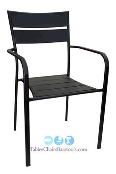 Aero Collection Commercial Indoor/Outdoor Steel Ladder Back Dining Chair    Bar U0026 Restaurant Furniture