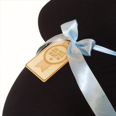 Postbox Party Baby Shower Personalised Bump Tag And Sash