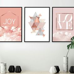 Looking for the latest art in pink and copper? Look no further! Stunning printable art on sale now, check it out