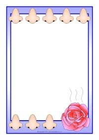 Free Page Borders For Microsoft Word Robin A4 Page Borders Sb12375  Sparklebox  Free Teaching .