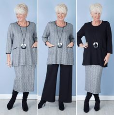 Women over 50 fashion over women's fashion, over 50 wo 50 Fashion, Fashion Over 40, Fashion Outfits, Fashion Trends, Ladies Fashion, Petite Fashion, Fashion Fall, Work Fashion, Fashion Online