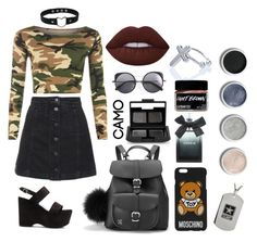 """Yes , Ma'am"" by universal-culture ❤ liked on Polyvore featuring WearAll, Topshop, Yves Saint Laurent, Lime Crime, Grafea, Moschino, Fad Treasures, Wood Wood, Torrid and NARS Cosmetics"