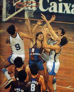 FCB vs Circulo Católico Badalona, 81/82.