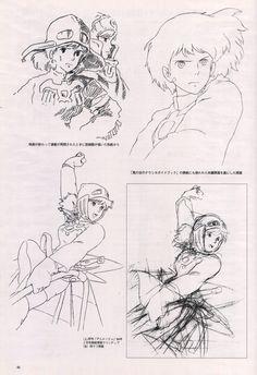 Nausicaa by Hayao Miyazaki