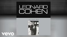 Leonard Cohen - I'm Your Man (Official Audio) Art Music, Music Songs, Music Videos, Waves Song, Story Of Abraham, Having No Friends, Leonard Cohen, Yet To Come, Post Punk
