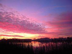 Autumn sunset in Estonia #COLOURFULESTONIA #VISITESTONIA