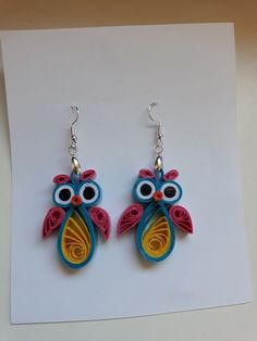 Paper Quilling Jewelry, Drop Earrings, Mona Lisa, Videos, Photos, Quilling, Accessories, Paper Jewelry, Quilling Jewelry