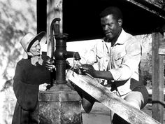 Sidney Poitier in The Lilies of the Field