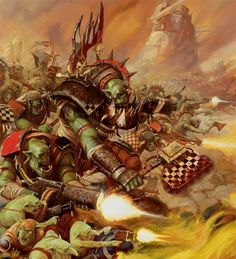 Please note, I am in no way affiliated to Games Workshop or Fantasy Flight Games nor am I anything close to an artist of any sort, I am merely a fan of the franchise and the amazing art it has spawned. Warhammer 40k Art, Warhammer Fantasy, Warhammer Armies, Orks 40k, Space Marine, Illustrations, Cover Art, Amazing Art, Fantasy Art