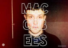 The Maccabees' Orlando Weeks.