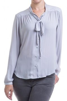 Type 2 Lady Like Top in Gray - $42.97