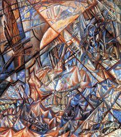 Pavel Filonov (Russian 1883–1941) [Russian Avant-Garde, Analytical Realism] October. Landscape. Formula, 1921. Russian Museum, St. Petersburg.
