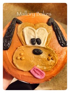 Pluto cake by Mallory