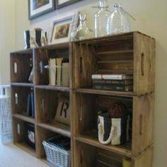 25 Awesome DIY Ideas For Bookshelves http://www.buzzfeed.com/peggy/25-awesome-diy-ideas-for-bookshelves