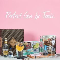 The Perfect Gin And Tonic Set by Tipple Box, the perfect gift for Explore more unique gifts in our curated marketplace. Gin And Tonic Gifts, Gin Gifts, Presents For Gin Lovers, Manchester Gin, Fever Tree Tonic Water, Gin History, Sipsmith Gin, Perfect Gin And Tonic, Premium Gin
