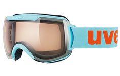 Uvex Downhill 2000 Vario Goggles: Shiny Light Blue: Item 4404 @ ARTECHSKI.com: