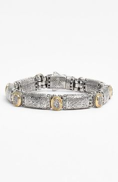 Konstantino Bracelet with diamonds, sterling and gold - available at Nordstrom