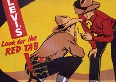 old levi's ads | Old Levi's Ad | Flickr - Photo Sharing!