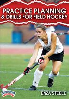 Practice Planning & Drills for Field Hockey -with Enza Steele, Lynchburg College Head Coach;  15x Old Dominion Athletic Conference (ODAC) champions; 9x ODAC Coach of the Year; over 500 career wins; has led Lynchburg to 13 NCAA Tournament appearances