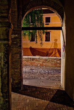 Portici by efilpera, Treviso, Italy, via Flickr