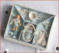 miniature baby + accessories