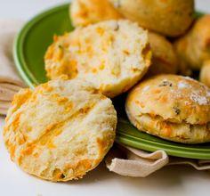 Jalapeño Cheddar Biscuits. Simple Vegan Recipe.