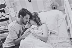 Beautiful set of photos to get! What a beautiful way to record the birth story :) Birth Pictures, Hospital Pictures, Birth Photos, Newborn Pictures, Labor Photos, Pregnancy Photos, The Joys Of Motherhood, Birth Photography, Teen Couples