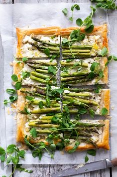 Tart Recipes, Cooking Recipes, Asparagus Tart, Ricotta, Shop Signs, Food Styling, Catering, Salads, Dining