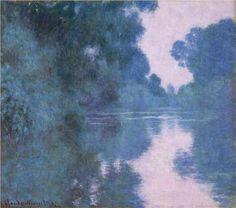 ALONGTIMEALONE: blue-voids: Claude Monet - Misty Mornings on the...