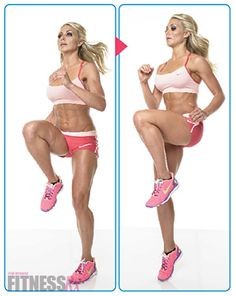 Get Sexy Summer Legs! This Sexy Legs and Butt Workout is a fat-burning, plyometric, lower body blast that will tighten, tone and shape your butt and legs in time for summer.