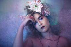 photo-hair-makeup by olivia weigelt jewelry: meshugge Hair Makeup, Make Up, Crown, Jewelry, Fashion, Moda, Makeup, Corona, Jewlery