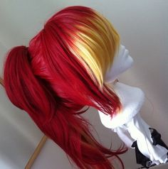 kind of amazing. Shura Kirigakure Cosplay Wig - Looking for Hair Extensions to refresh your hair look instantly? KINGHAIR® only focus on premium quality remy clip in hair. Visit - - for more details. Cosplay Hair, Cosplay Wigs, Kawaii Wigs, Vibrant Hair Colors, Anime Wigs, Red Wigs, Wig Styles, Hair Designs, Cute Hairstyles