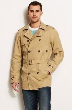 I have not purchased a trench coat yet, but this one from Armani Exchange might just be the one.
