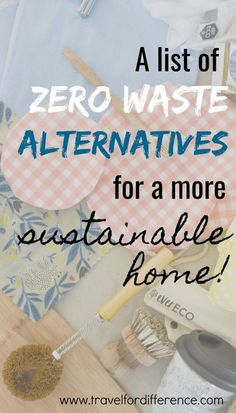 Here's a list of zero waste alternatives to take green living to a whole new level! Becoming plastic free is very is a big passion of mine, and with these very simple changes I've been able to become much more eco friendly! Luz Natural, Zero Waste, Eco Friendly Water Bottles, Plastic Alternatives, Eco Friendly Cleaning Products, Green Living Tips, Eco Friendly House, Living At Home, Clean Living