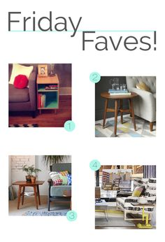 Friday faves! 04-04-14