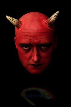 Devil painted by Schminkkoppies Devil, Halloween, Movies, Movie Posters, Art, Art Background, Films, Film Poster, Kunst