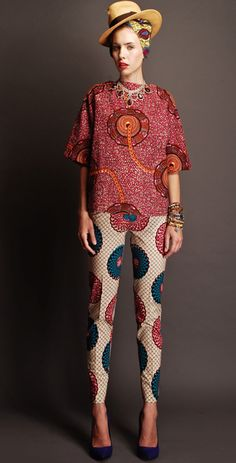 Stella Jean's African print is For the Makers DIY inspiration