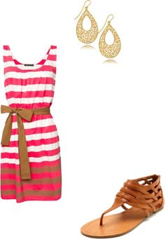 Summer Dress, created by doublel225 on Polyvore