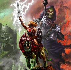 He-Man and Skeletor by ~RyanBarger on deviantART
