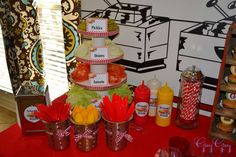Greyson's Hamburger Themed 3rd Birthday | CatchMyParty.com