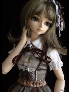[doll for sale] my Soo, chocolat pistache ! - Lelahel ~ clothes & accessories for your dolls ~
