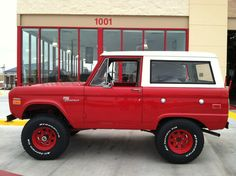 Ford classic early bronco uncut lubr