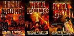 Hell Bound, Hell Hounds, Hell Gate by International Bestseller English Reformation, Shattered Dreams, The Cloisters, The Far Side, Sword And Sorcery, The Dark World, Bounty Hunter, Underworld, Dark Fantasy