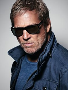 """""""You have to live in the moment"""", Jeff Bridges for the Marc O´Polo Spring/Summer 2014 Eyewear campaign #followyournature #casual"""